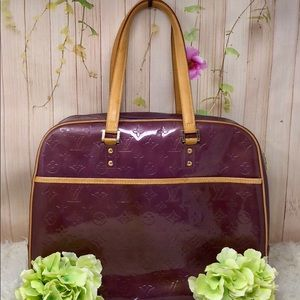 Authentic Louis Vuitton Vernis Tote Bag
